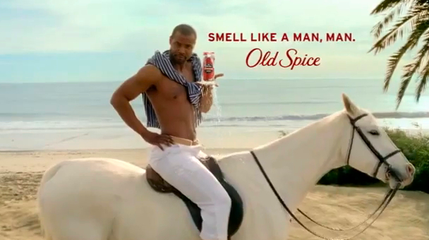 Old Spice Man – an entirely different type of ad campaign ...